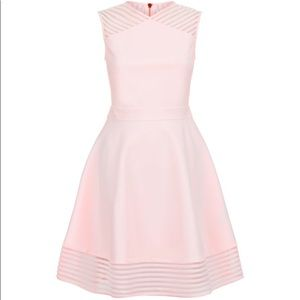 Ted Baker London Eleese Mesh Skater Dress
